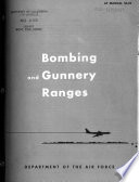Bombing and Gunnery Ranges