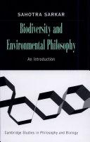 Biodiversity and Environmental Philosophy
