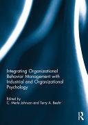Integrating Organizational Behavior Management with Industrial and Organizational Psychology Pdf/ePub eBook
