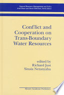 Conflict And Cooperation On Trans Boundary Water Resources