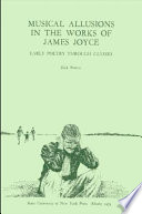 Musical Allusions in the Works of James Joyce