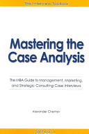 Mastering the Case Analysis