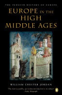 Cover of Europe in the High Middle Ages