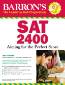 Barron s SAT 2400 Book