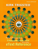 MyMathLab for Trigsted Trigonometry    Access Card    PLUS EText Reference