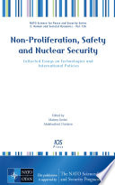 Non Proliferation  Safety and Nuclear Security