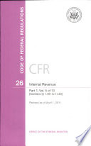 Code Of Federal Regulations Title 26 Internal Revenue Pt 1 Sections 1 401 1 440 Revised As Of April 1 2011