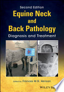 Equine Neck and Back Pathology Book