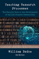 Teaching Research Processes Book