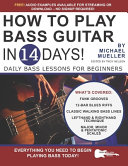 How to Play Bass Guitar in 14 Days Book