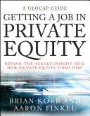 Getting a Job in Private Equity Pdf/ePub eBook