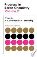 Progress In Boron Chemistry Book PDF