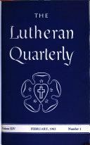 Lutheran Quarterly