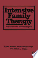 Intensive Family Therapy