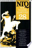 New Theatre Quarterly 28 Volume 7 Part 4