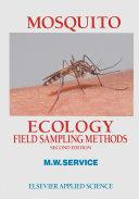 Pdf Mosquito Ecology