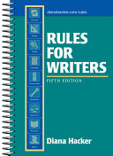 Rules For Writers Book PDF