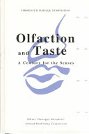 Olfaction And Taste [Pdf/ePub] eBook