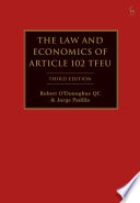 Law and Economics of Article 102 TFEU