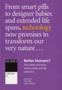 Better Humans  Book PDF