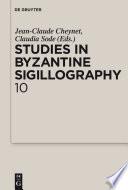 Studies in Byzantine Sigillography