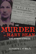 The Murder of Mary Bean and Other Stories - Seite 185