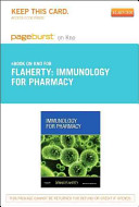 Immunology for Pharmacy   Pageburst E Book on Kno  Retail Access Card