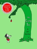 The Giving Tree 40th Anniversary Edition Book with CD banner backdrop