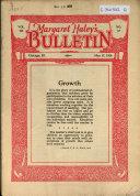 Margaret Haley S Bulletin
