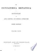 The Encyclopaedia Britannica ...