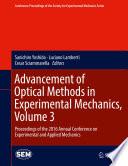 Advancement of Optical Methods in Experimental Mechanics, Volume 3