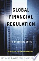 Global Financial Regulation Book PDF