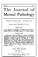 The Journal of Mental Pathology