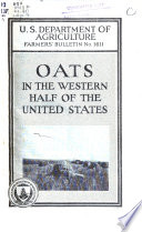 Oats in the Western Half of the United States