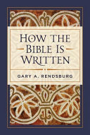 link to How the Bible is written in the TCC library catalog