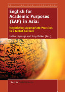 English for Academic Purposes  EAP  in Asia