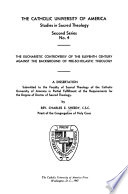 The Eucharistic Controversy of the Eleventh Century