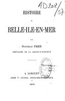 Histoire de Belle Ile en Mer