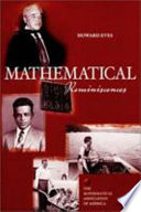 Mathematical reminiscences