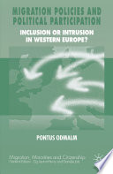 Migration Policies and Political Participation