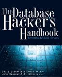 The Database Hacker s Handbook