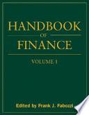 Handbook of Finance, Financial Markets and Instruments