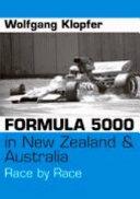 Formula 5000 in New Zealand & Australia