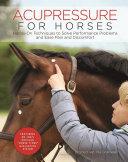 Acupressure for Horses