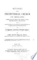 A History of the Presbyterian Church in Ireland