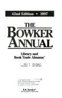The Bowker Annual Book