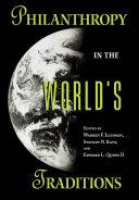 Philanthropy in the World's Traditions Pdf/ePub eBook