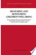 Measuring and Monitoring Children   s Well Being