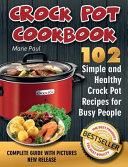 Crock Pot Cookbook Book