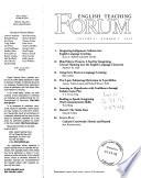 English Teaching Forum